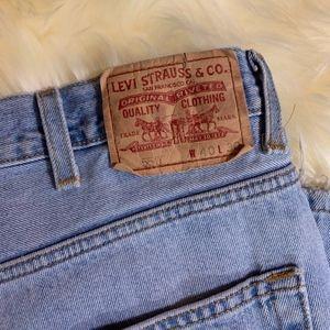 Levi's Jeans - Mens Vintage 550 relax fit Levis 40x30